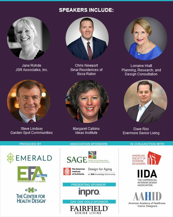 EFA Virtual Conference - Speakers and Sponsors