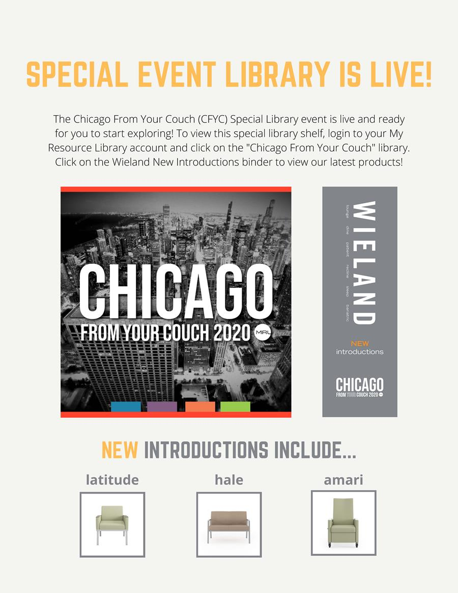 The Chicago From Your Couch (CFYC) Special Library event is live and ready for you to start exploring!
