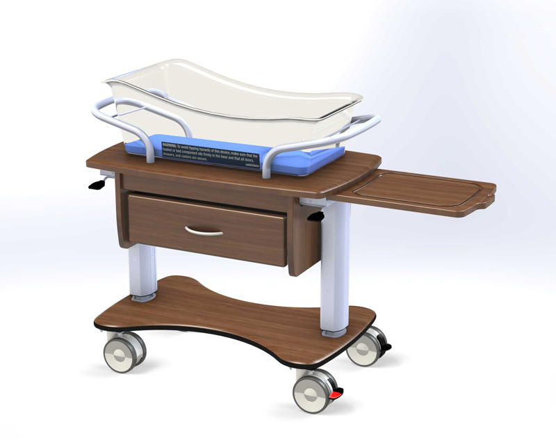 Rise II Hospital Infant Bassinet from MedViron